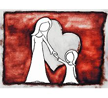 I Love You 2 Photographic Print