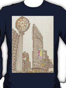 the flatiron building T-Shirt