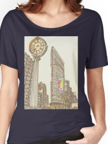 the flatiron building Women's Relaxed Fit T-Shirt