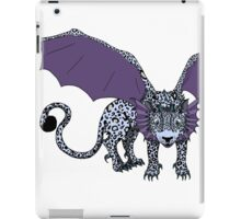 Snow Leopard Dragon  iPad Case/Skin
