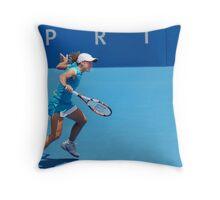 Seagull (Justine Henin) Throw Pillow