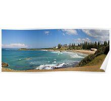 Yamba Beach, New South Wales Poster