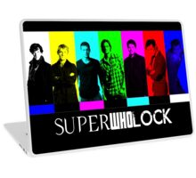 SuperWhoLock TV Color Screen Laptop Skin