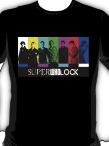 SuperWhoLock TV Color Screen T-Shirt