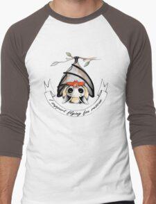 I support flying-fox rescue Men's Baseball ¾ T-Shirt