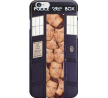 Misha in the Tardis iPhone Case/Skin