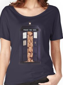 Misha in the Tardis Women's Relaxed Fit T-Shirt