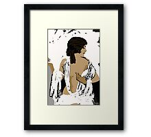 Femme Fatale c 1920's Beautiful Rule the World Framed Print