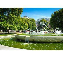 Joy of Life: Fountain Hyde Park London Photographic Print