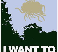 I Want to Believe in the Flying Spaghetti Monster by brakkum
