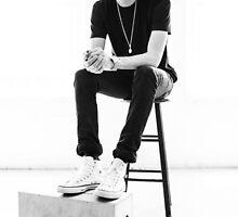 G-Eazy - Black & White Photoshoot (1) by heyitsjared
