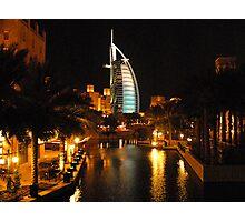 Burj Al Arab in Dubai Photographic Print