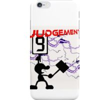 Mr. Game and Watch Judgement iPhone Case/Skin