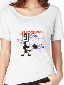 Mr. Game and Watch Judgement Women's Relaxed Fit T-Shirt