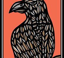 Eagle, Hawk, Artwork by martygraw