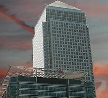 Canary Wharf by DavidFrench