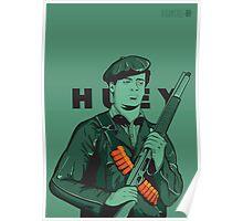 Black Panther Huey Newton Poster