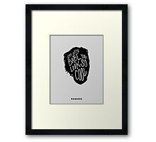 You Look So Cool Framed Print