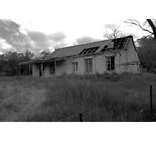 House Wreck Photographic Print