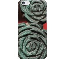 Green Flower Pattern iPhone Case/Skin