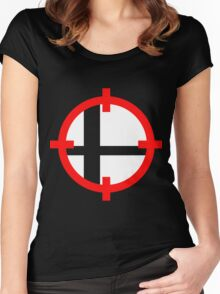 Smash Bros. Duck Hunt Women's Fitted Scoop T-Shirt