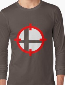 Smash Bros. Duck Hunt Long Sleeve T-Shirt