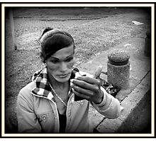 Street Make-up Photographic Print