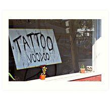 TATTOO VOODOO Art Print