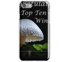Closeups in Nature Banner iPhone Case/Skin