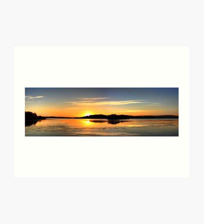 HDR Panorama Art Print