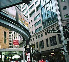 Sydney monorail  by adam pearson