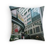 Sydney monorail  Throw Pillow