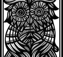 Owl, Artwork by martygraw