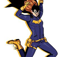 Batgirl by Monoclebunny