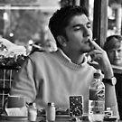 Coffee and a cigarette by Caroline Gorka