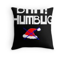 Bah! Humbug Throw Pillow