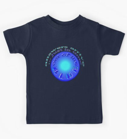 out of the BLUE... just in time Kids Tee