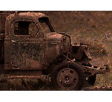 Rust and Rain Photographic Print
