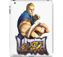 ultra street fighter abel iPad Case/Skin