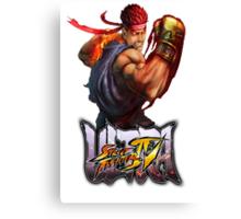 ultra street fighter evil ryu Canvas Print