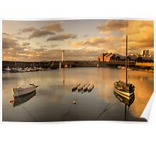 Newhaven Harbour (No Border) Poster