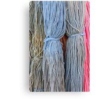 hank wool Canvas Print