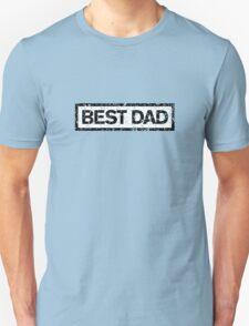 Best Dad Stamp Unisex T-Shirt