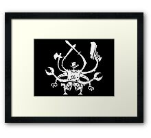 Killbot 06 - The Bot WIth No Name  Framed Print
