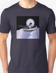 1920s Gatsby Flapper Girl Sea Boat Quote T-Shirt
