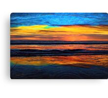 A Beach Sunset Is My Aurora Canvas Print