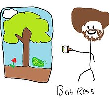 Bob Ross by zmedia