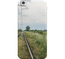 train rails iPhone Case/Skin