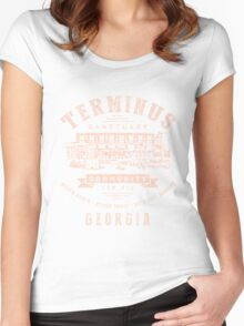 Terminus Sanctuary Community (light) Women's Fitted Scoop T-Shirt