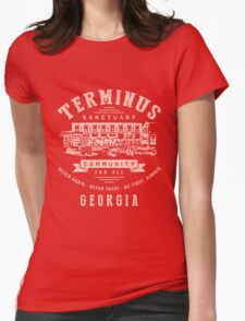 Terminus Sanctuary Community (light) Womens Fitted T-Shirt